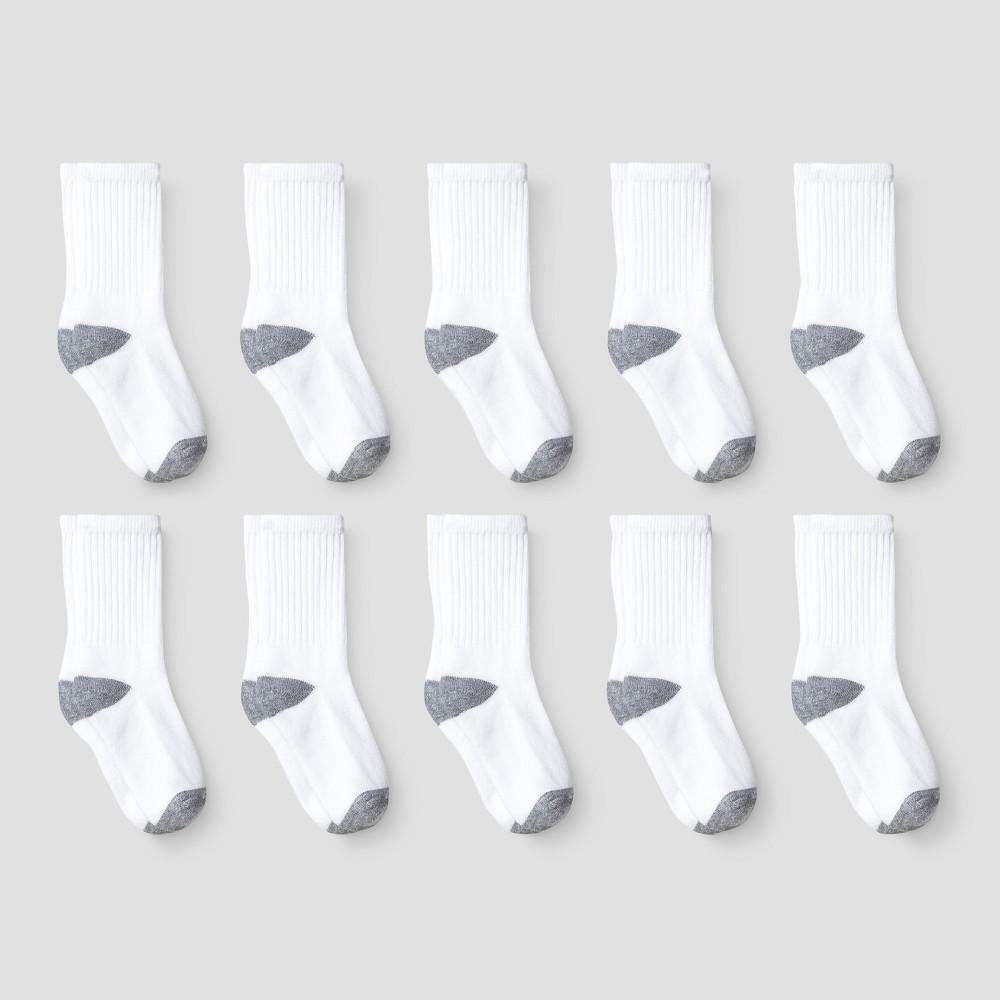 Boys' Athletic Socks - Cat & Jack M, Multicolored
