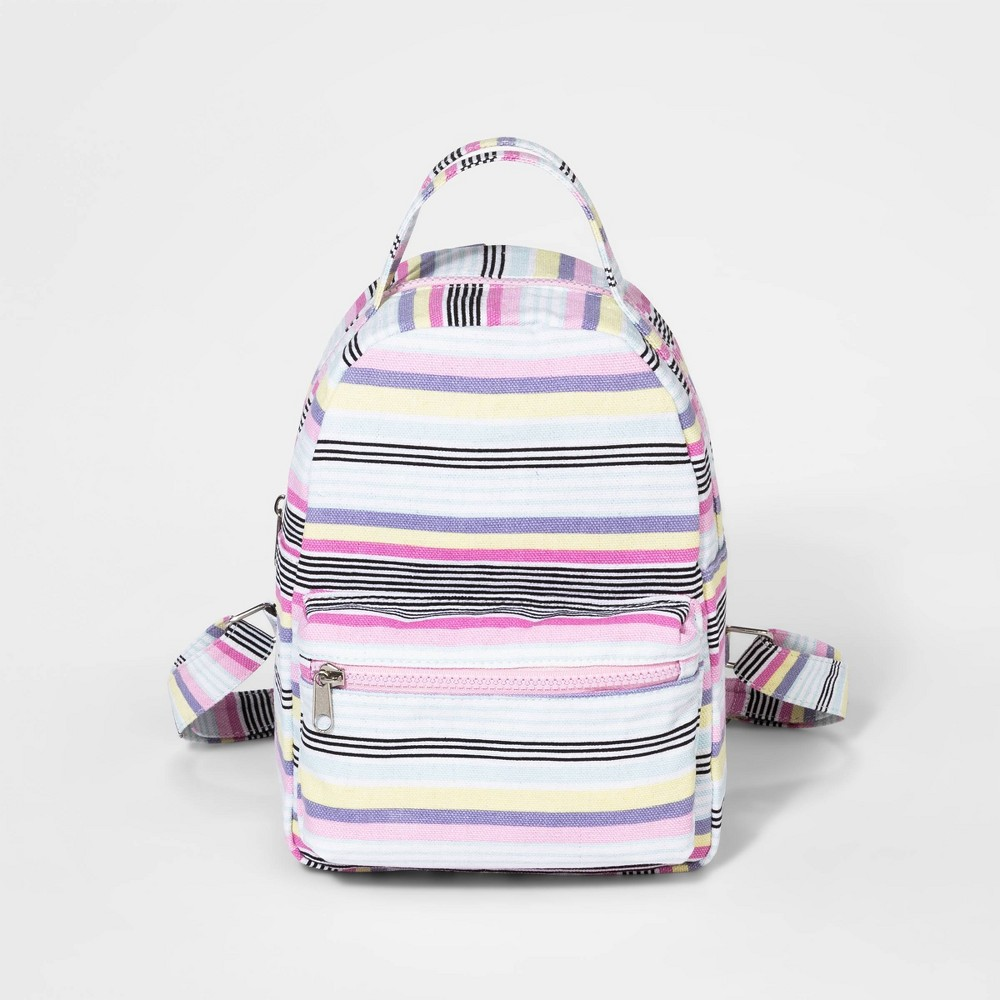Girls' Backpack - art class, Multi-Colored