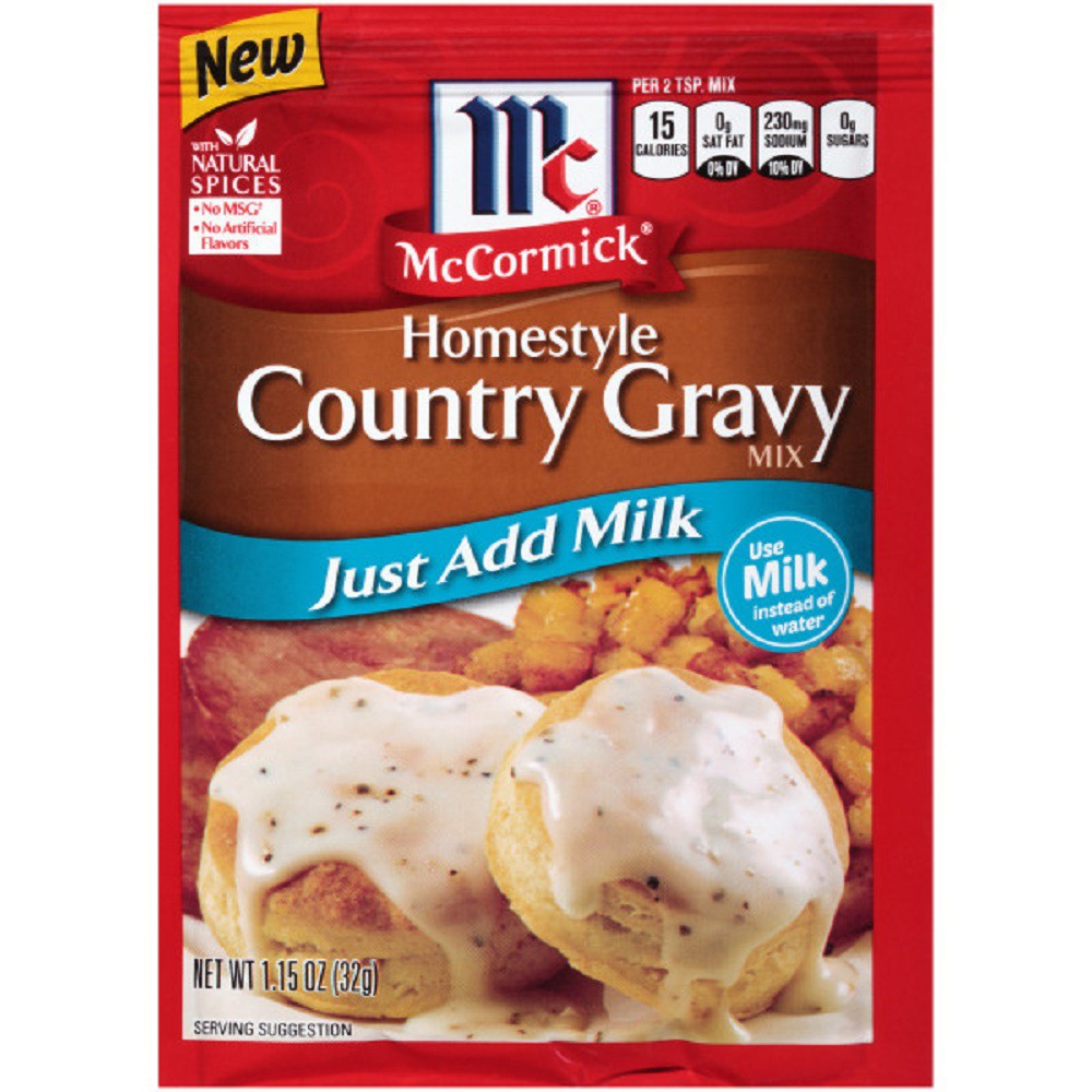 McCormick Homestyle Country Gravy Mix 1.15 oz