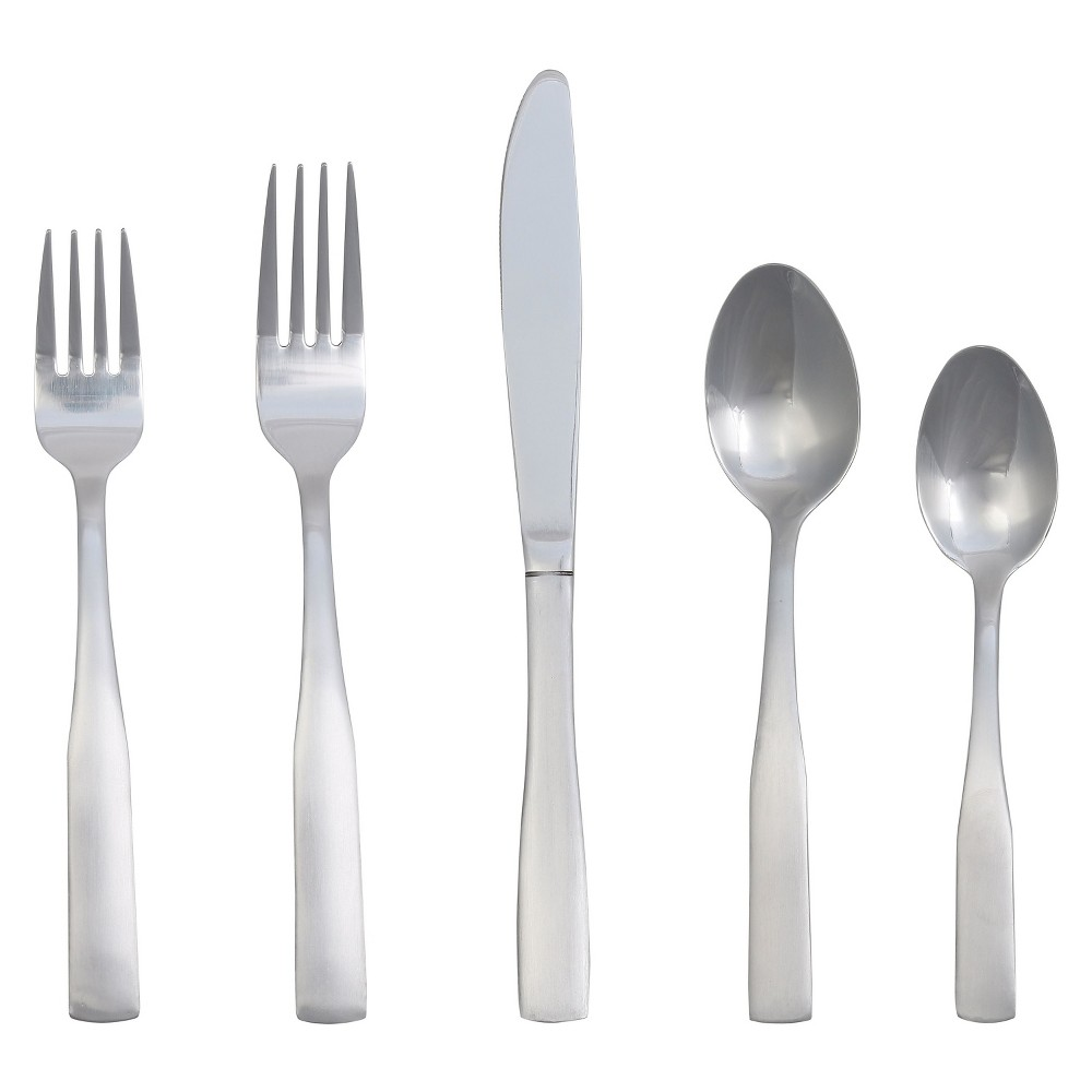 Pryce Silverware Set 20-pc. Stainless Steel - Room Essentials, Silver