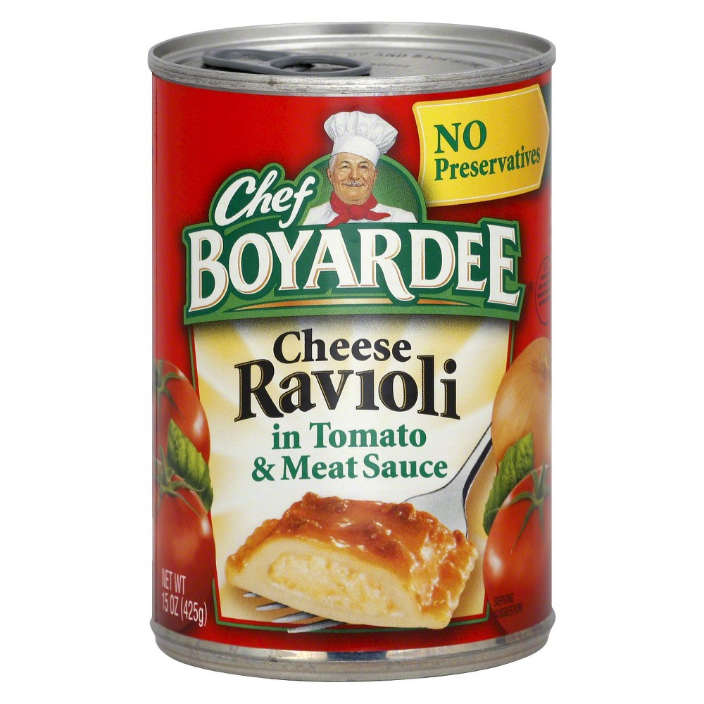 Chef Boyardee Cheese Ravioli 15 oz
