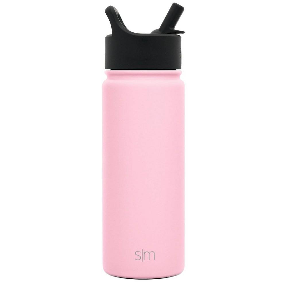 Simple Modern 18oz Summit Water Bottle Blush Pink