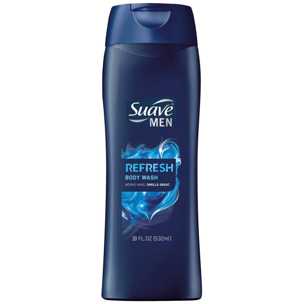 Suave Men's Refreshing Splash Body Wash 18 oz