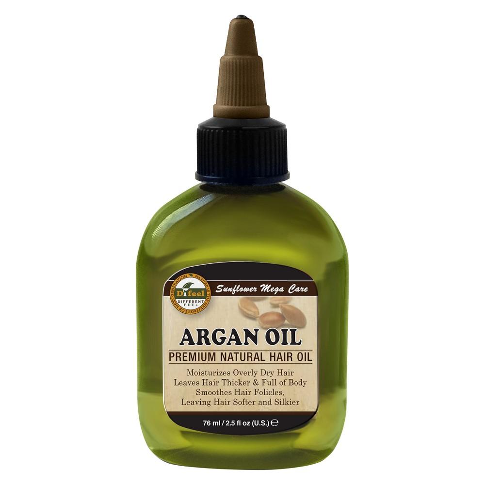 Difeel Premium Natural Hair Oil Argan Oil - 2.5 fl oz