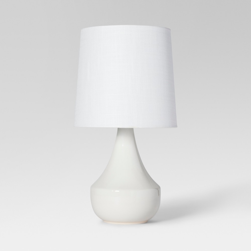Montreal Wren Assembled Table Lamp White Includes Energy Efficient Light Bulb - Project 62