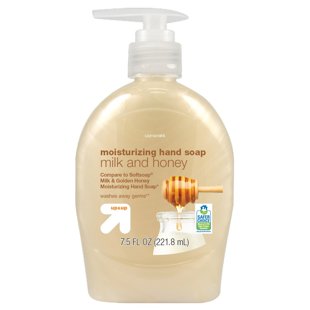 Milk and Honey Hand Soap - 7.5oz - Up&Up (Compare to Softsoap Milk & Honey Moisturizing Hand Soap), Pepper