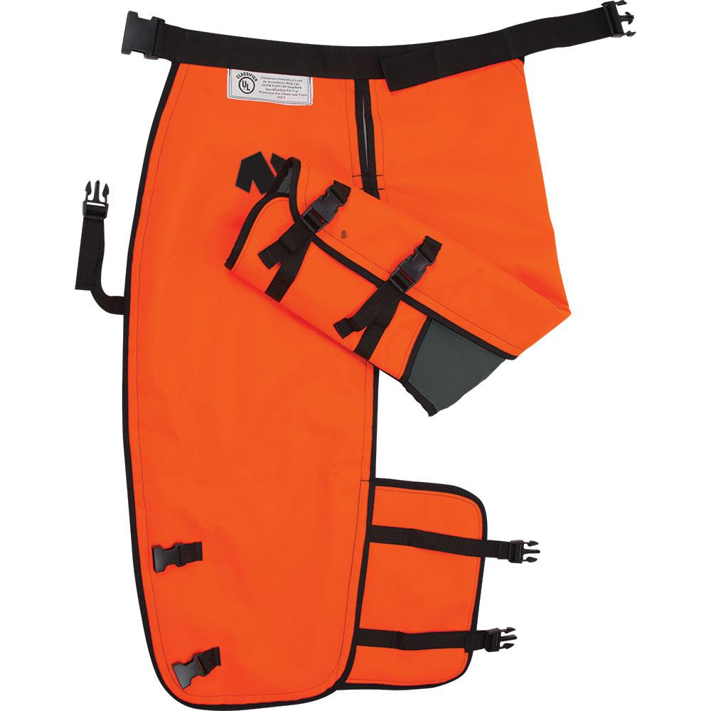 Notch 36 in. Chainsaw Chaps with Calf Wrap - Large
