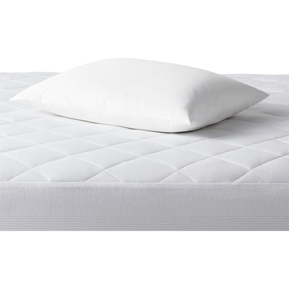 Single Stain Release Pillow Protector (Standard/Queen) White - Made By Design
