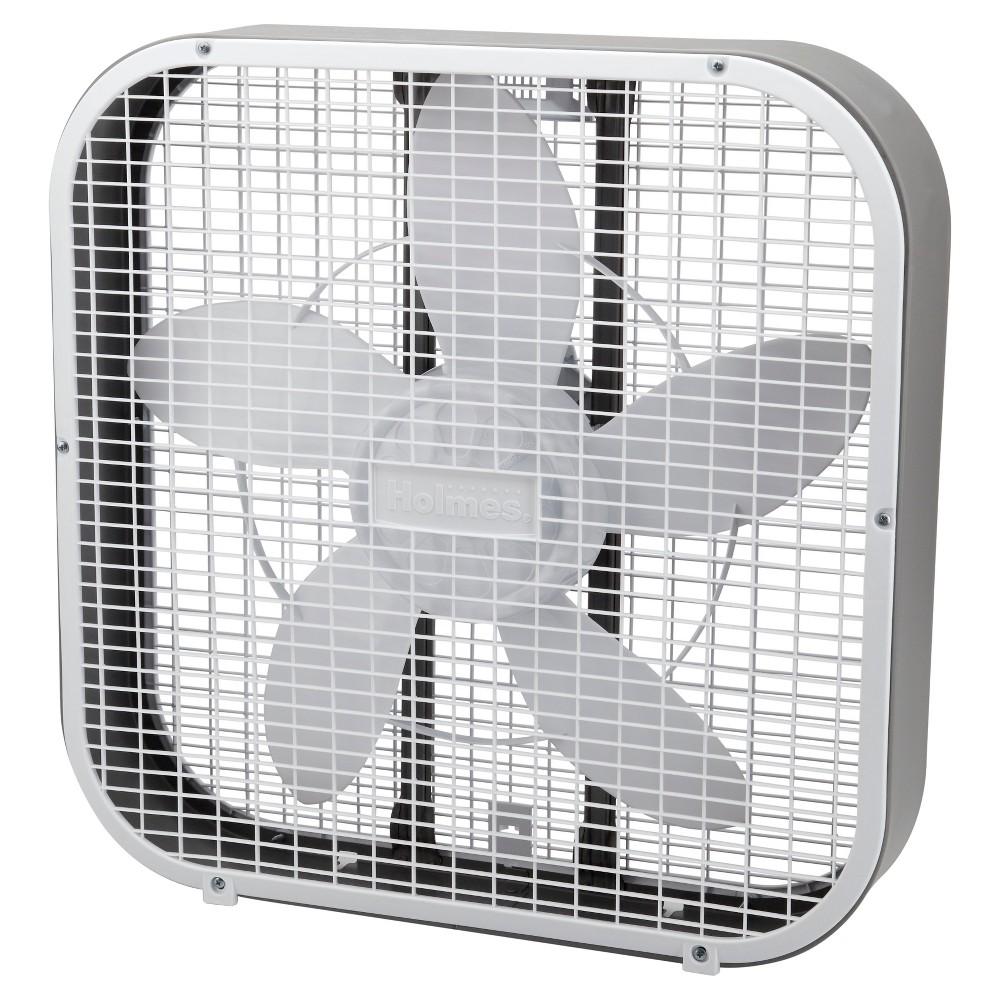 20 3-Speed Box Fan White - Holmes