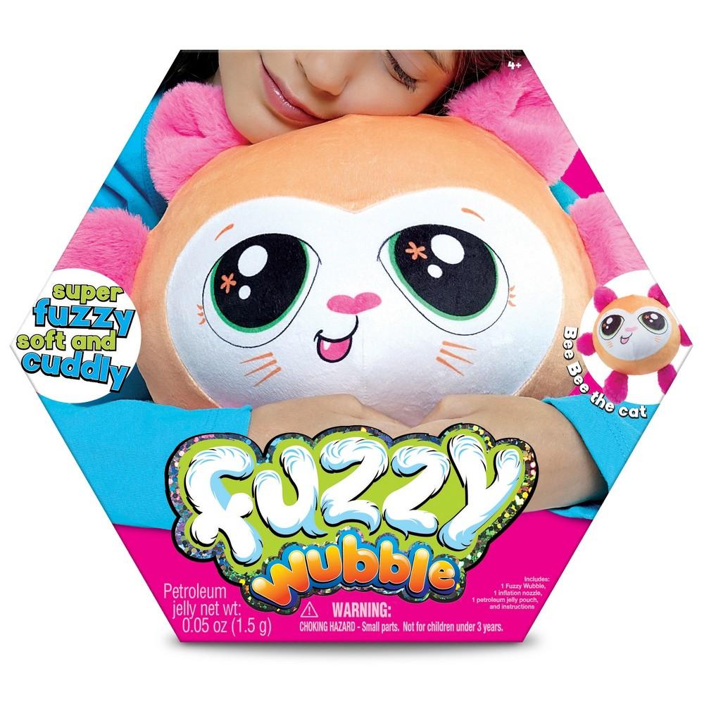 Fuzzy Wubble - Cat, Stuffed Animals