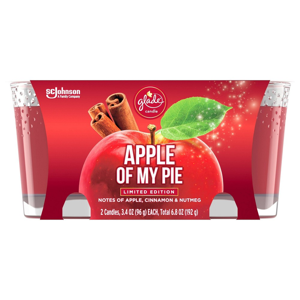 Glade Candle - Apple of My Pie - 6.8oz/2ct