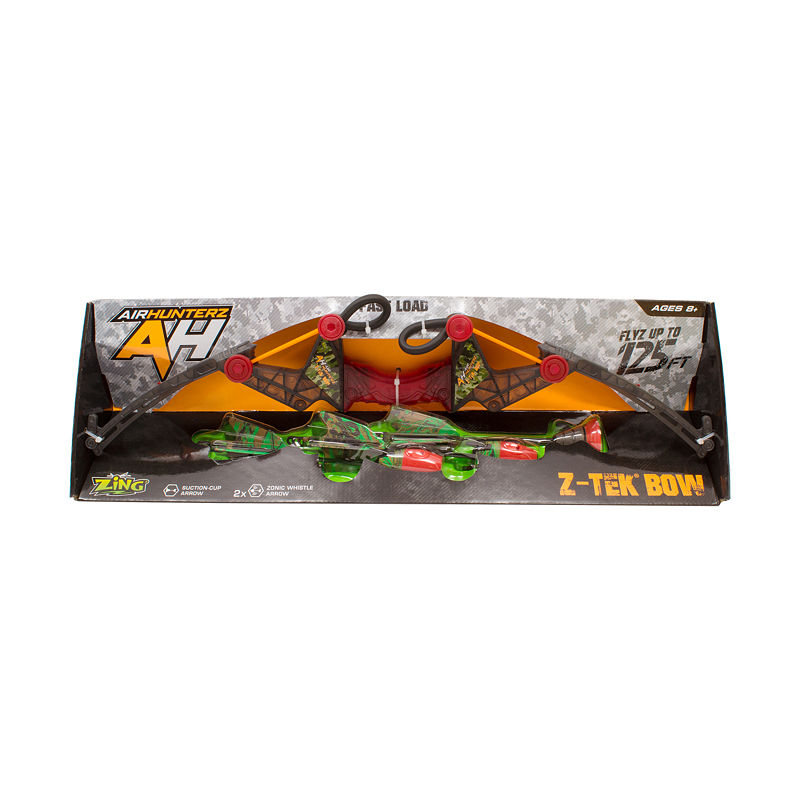 Zing Toys Air Hunterz Z-Tek Bow, Multi-colored, One Size