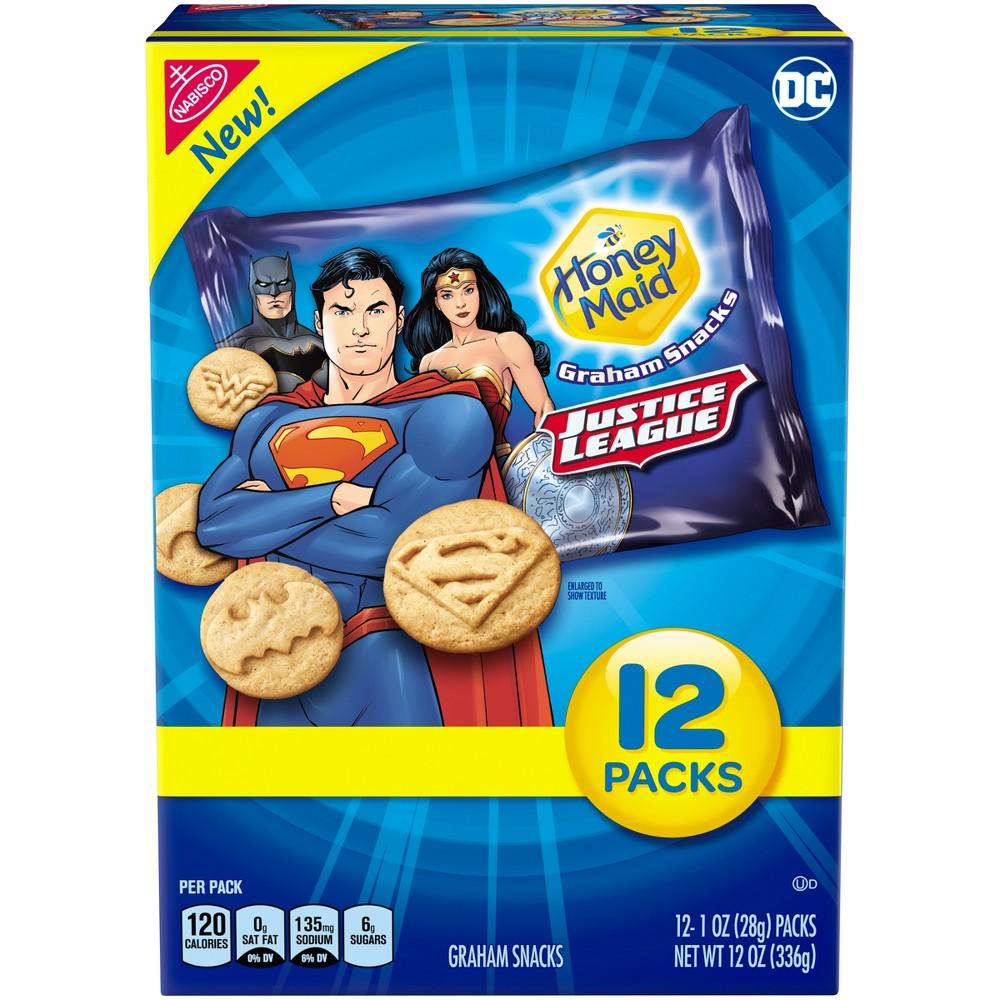 Honey Maid Justice League Graham Snacks - 12oz