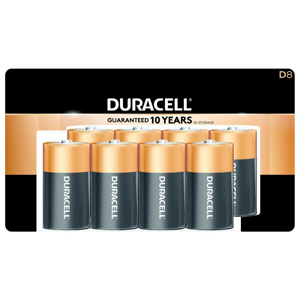 Duracell Coppertop D Batteries - 8ct