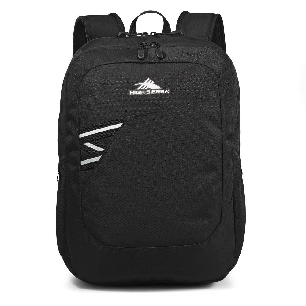 """High Sierra Outburst 17.5"""" Backpack - Black"""