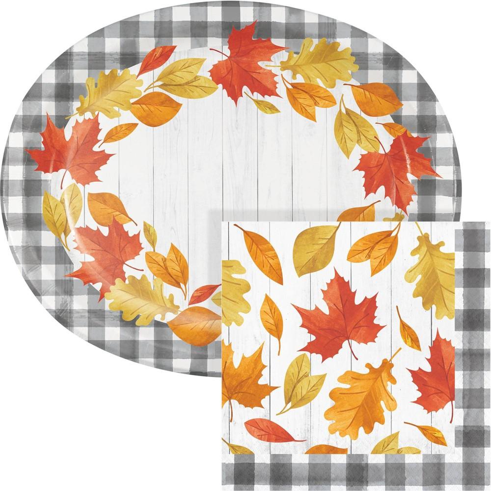 Fallen Leaves Buffet Kit, Party Kits