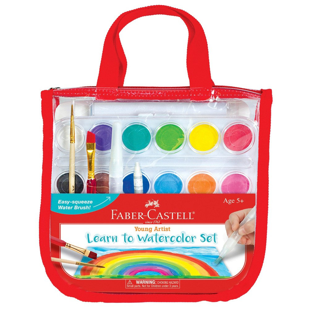 Young Artist Learn to Watercolor Set - Faber-Castell
