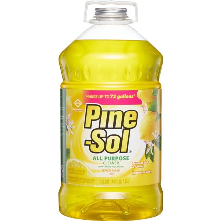 Pine-Sol, CLO35419CT, Pine-Sol All-Purpose Cleaner, 3 / Carton, Yellow