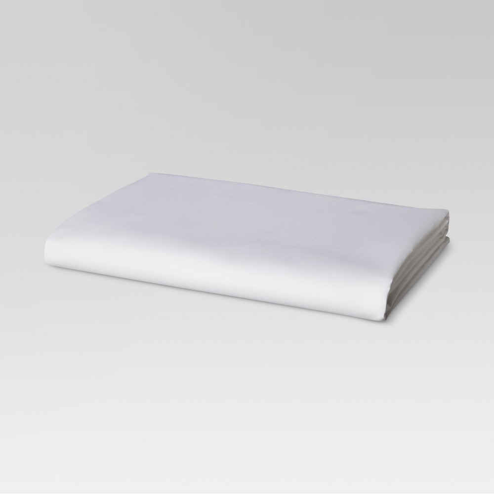 Ultra Soft Fitted Sheet (Full) White 300 Thread Count - Threshold