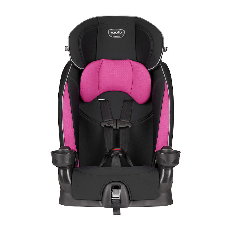 Evenflo Chase Booster Car Seat, Girls, Jayden, One Size