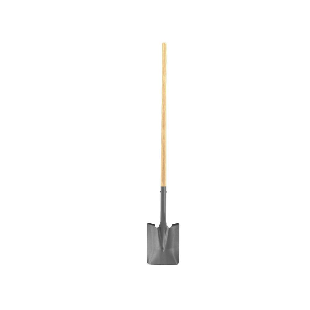 Bon Tool 48 in. Wood Handle Econo Square Point Shovel