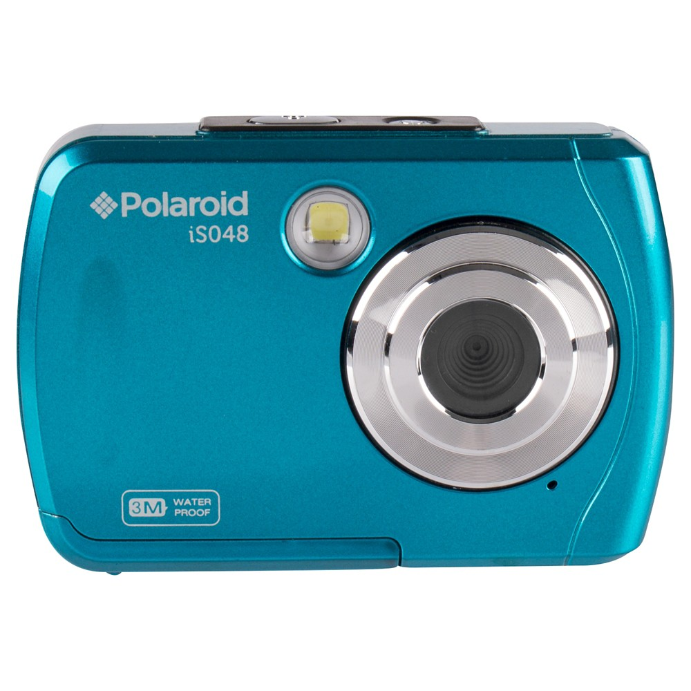 Polaroid 16MP Waterproof Digital Camera - Teal (Blue) (IS048-Teal)