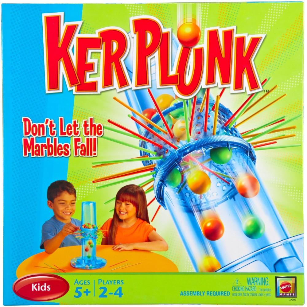 Kerplunk Board Game, Board Games
