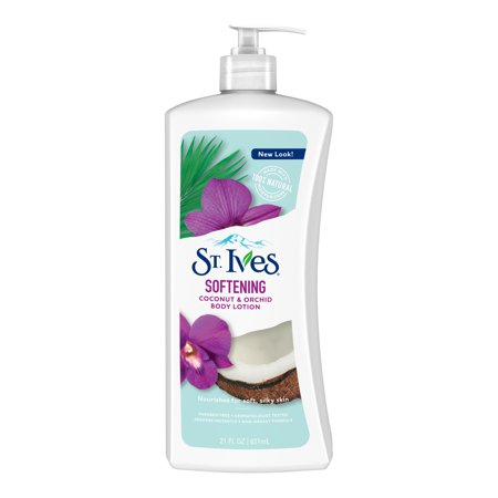 St. Ives Softening Body Lotion Coconut and Orchid 21 oz