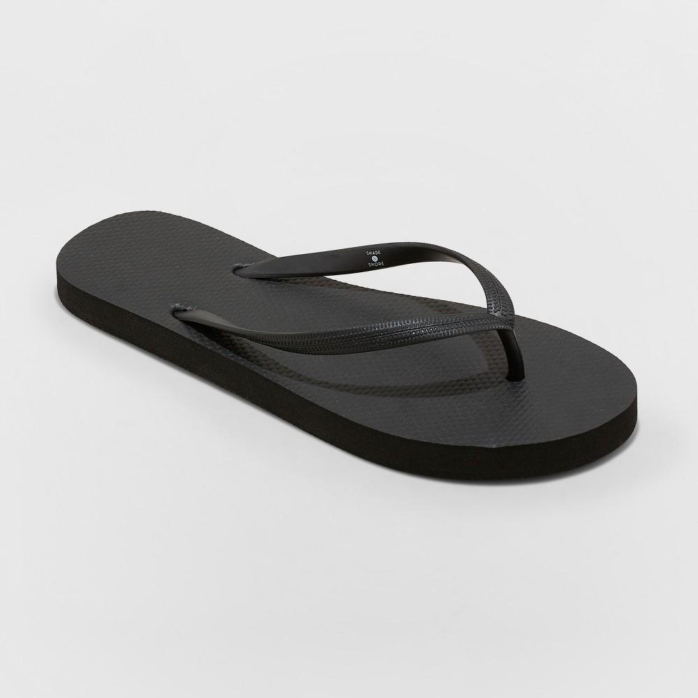Women's Sara Flip Flops - Shade & Shore Black 7