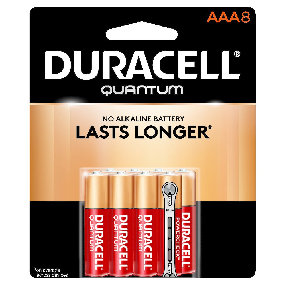 Duracell Quantum Aaa Batteries - 8 ct