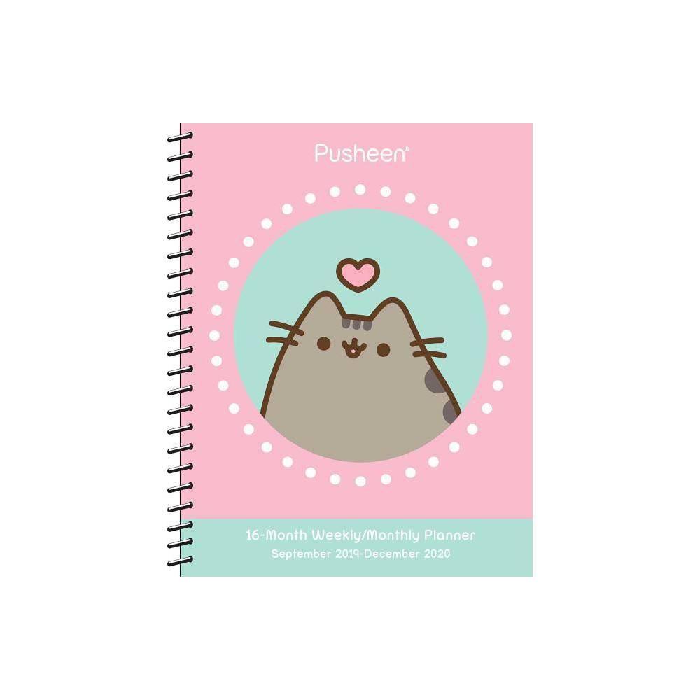 Pusheen 2019-2020 Weekly/Monthly Planner Calendar - by Claire Belton