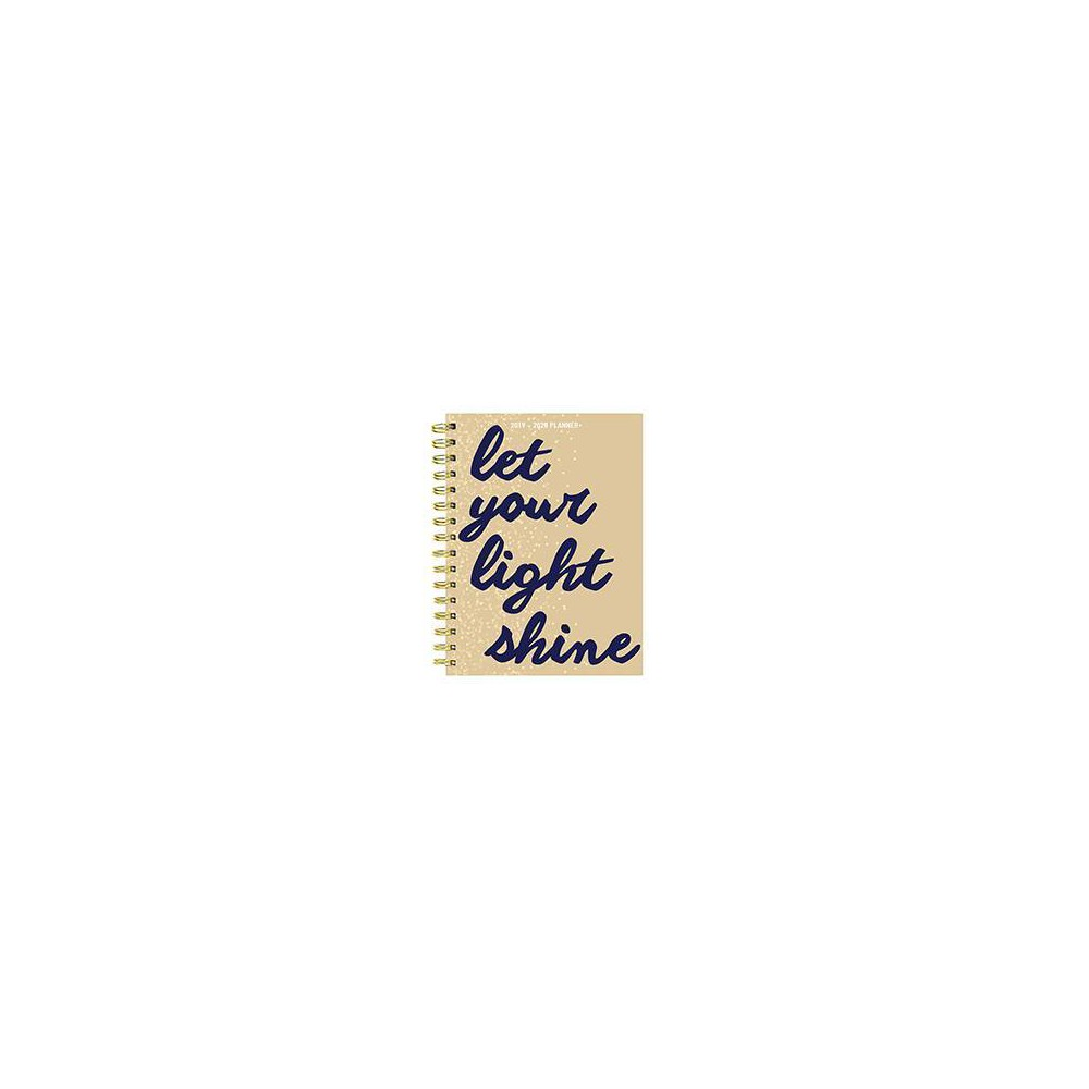 "2019-2020 Academic Planner 6.5""x 8"" Light Shine - TF Publishing, New Oat"