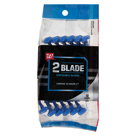 Walgreens Disposable Twin-Blade Razors - 12 ea