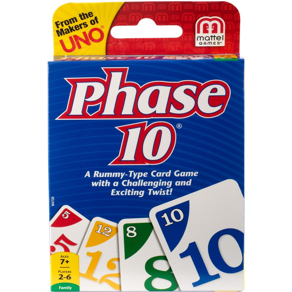 Phase 10 Card Game, Card Games