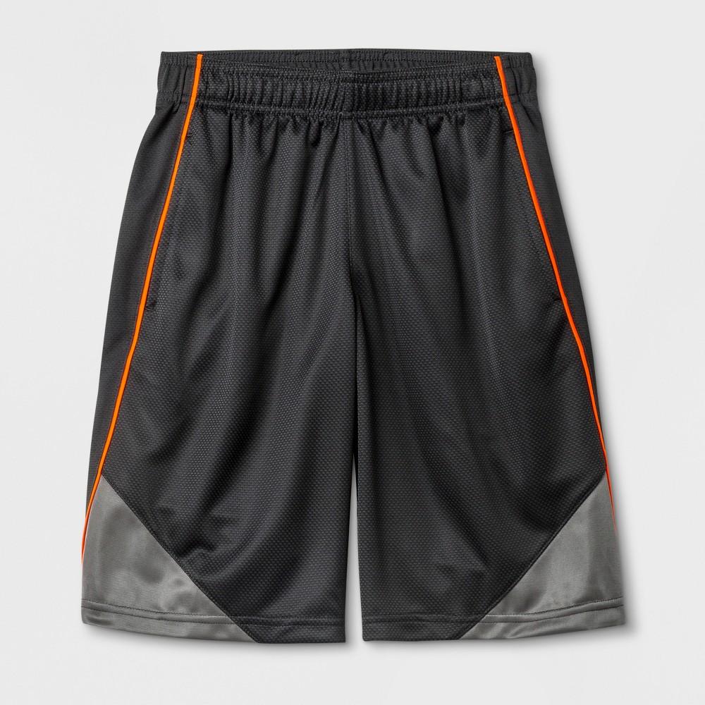 Boys' Core Basketball Shorts - C9 Champion Charcoal (Grey) S