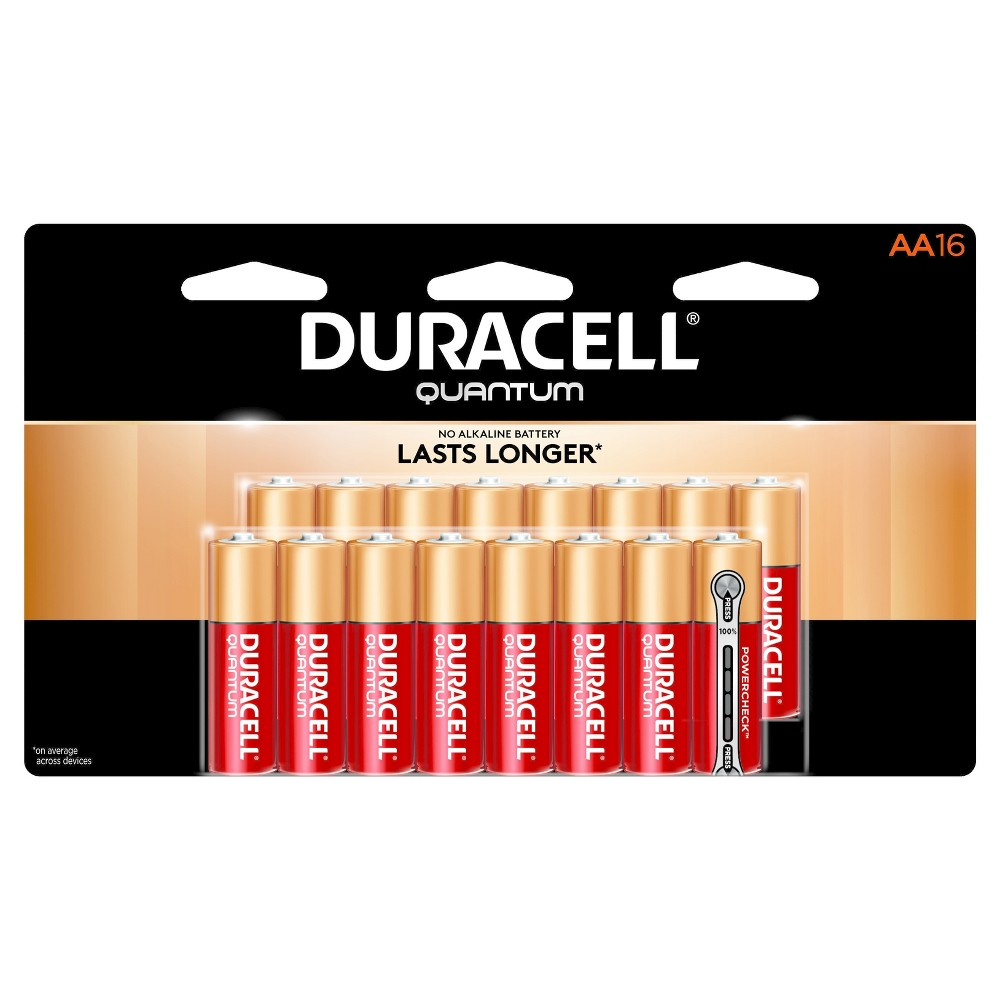 Duracell Quantum AA Batteries - 16ct