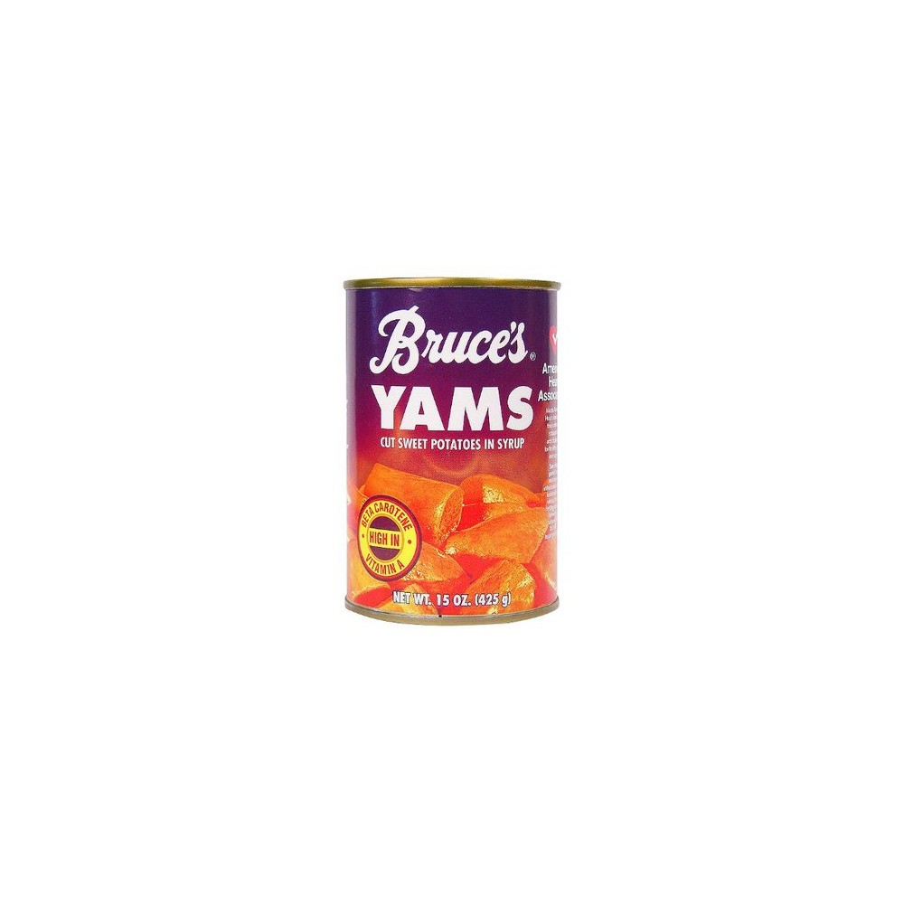 Bruce's Yams Cut Sweet Potatoes in Syrup - 15 oz