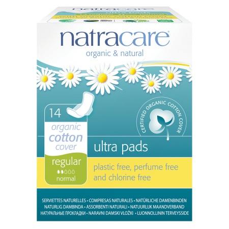 Natracare Natural Ultra Pads - 14 ea