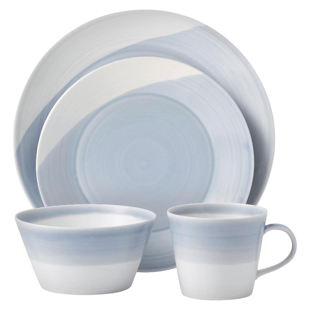 Royal Doulton 1815 4pc Dinnerware Set Blue