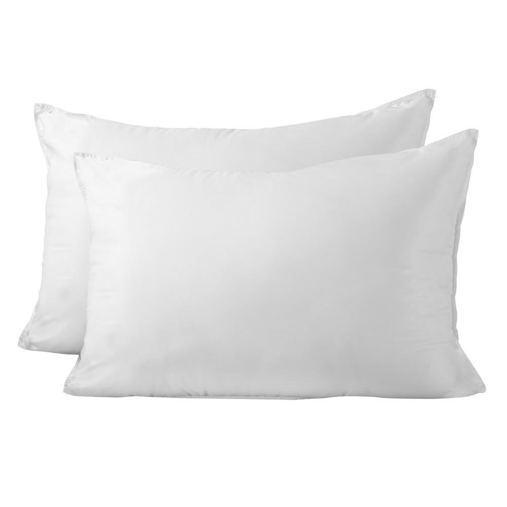SlumberTech MicronOne Allergen Barrier Cover Standard Pillow 2pk, White