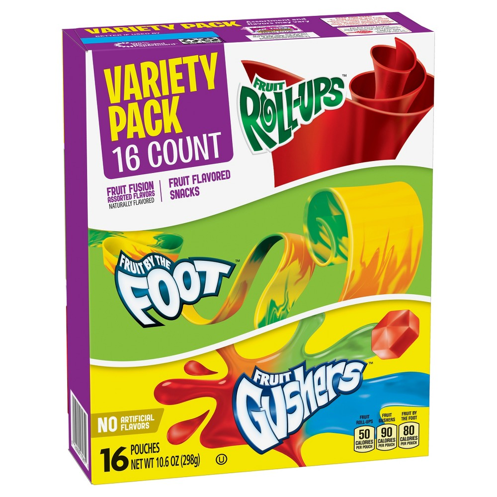 Fruit Flavored Variety Snacks - 16ct