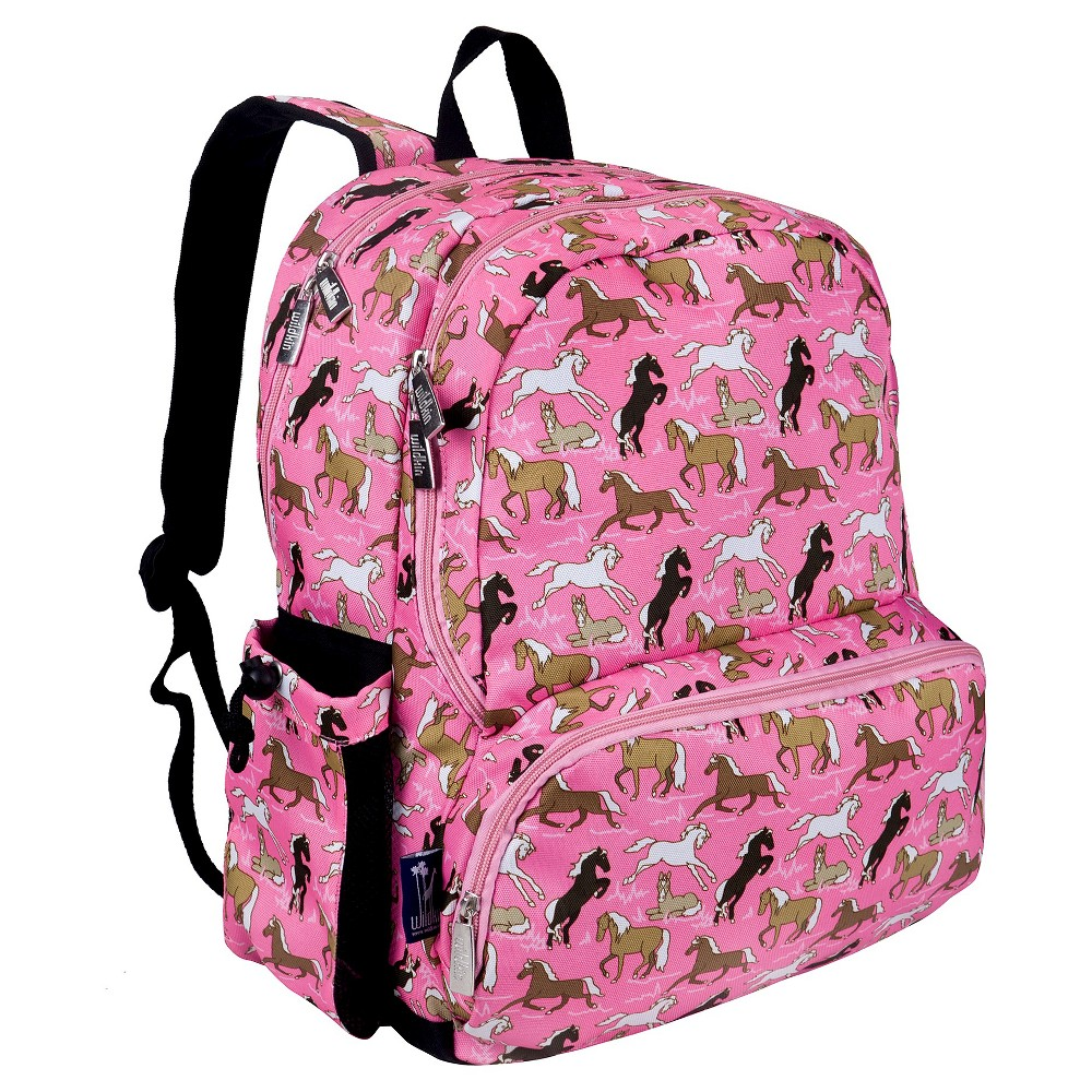 Wildkin Megapak Horses Kids' Backpack - Pink