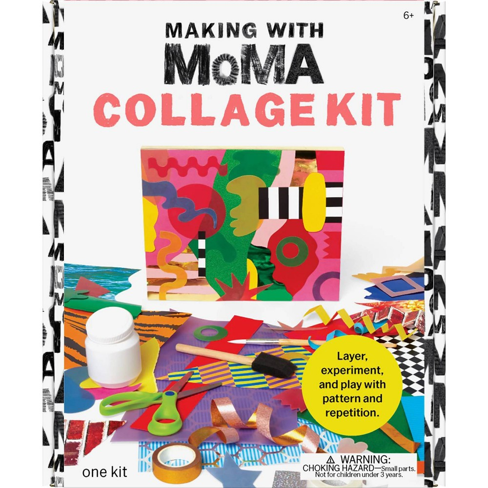Art Making with MoMA Collage Kit, Multi-Colored