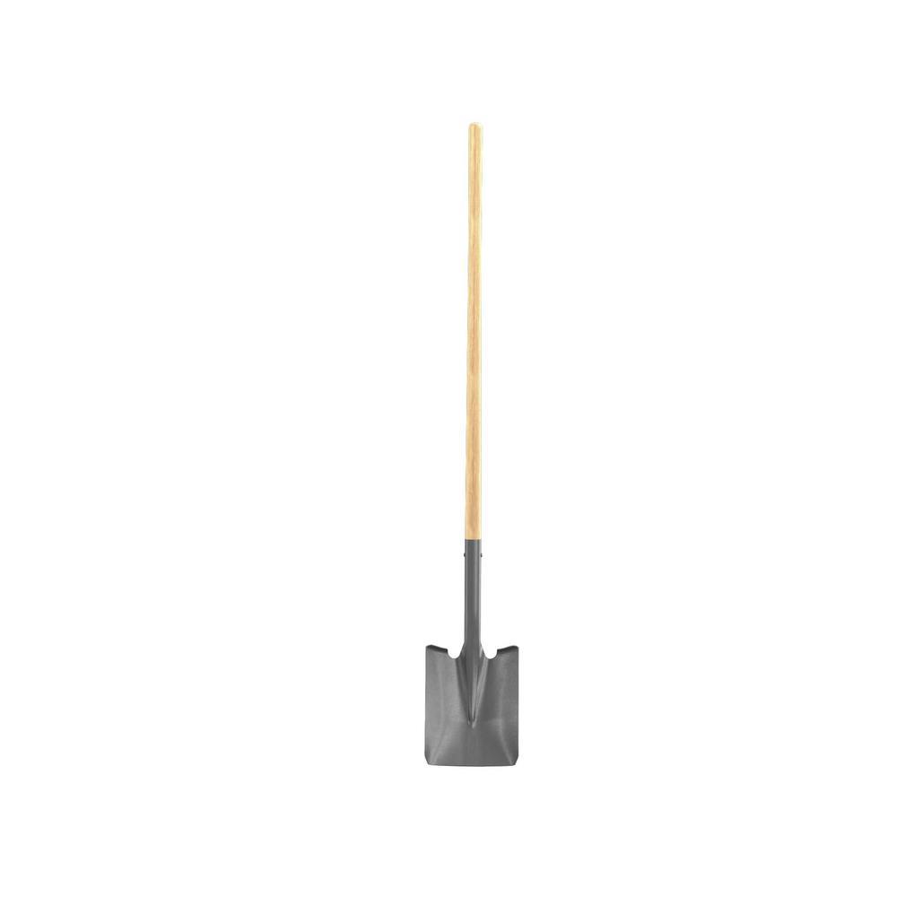 Bon Tool 48 in. Wood Handle Econo Square Point Shovel