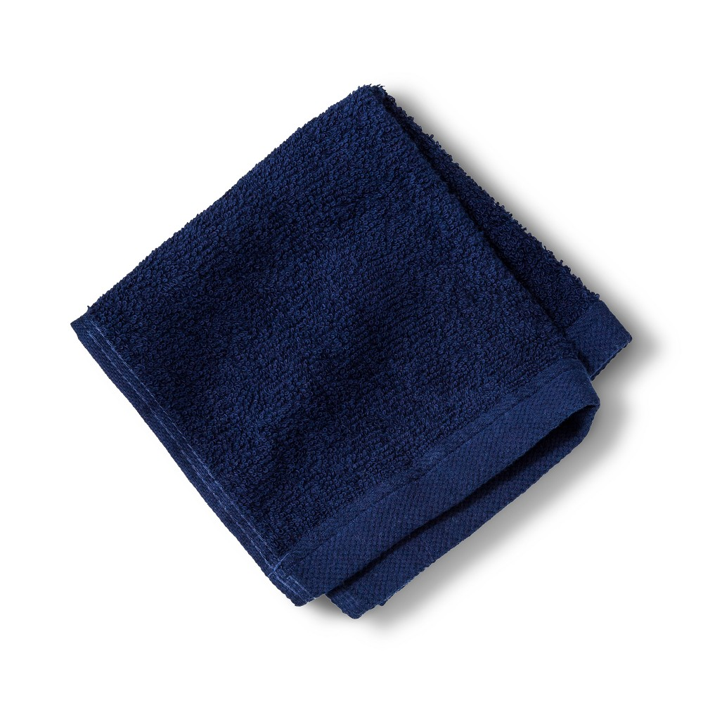 Washcloth Bath Towels And Washcloths Nighttime Blue - Room Essentials