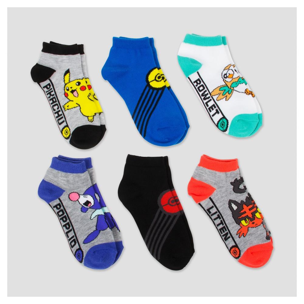 Kids' Pokemon Socks - Gray S/M, Kids Unisex