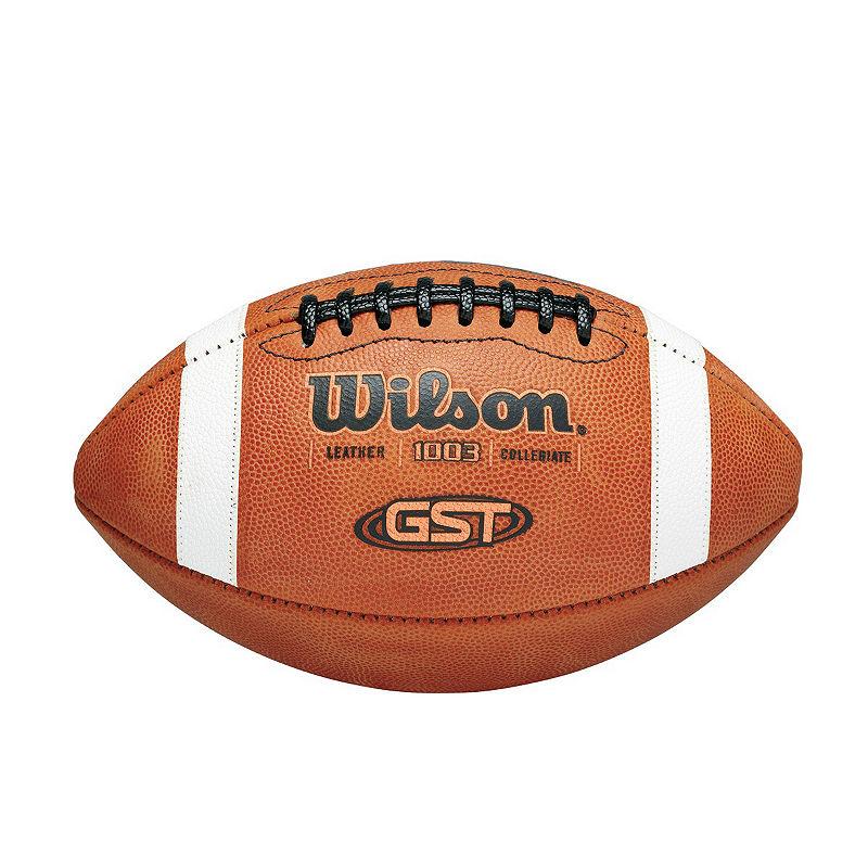 Wilson 1003Gst Game Football - Footballs - Brown - Brown