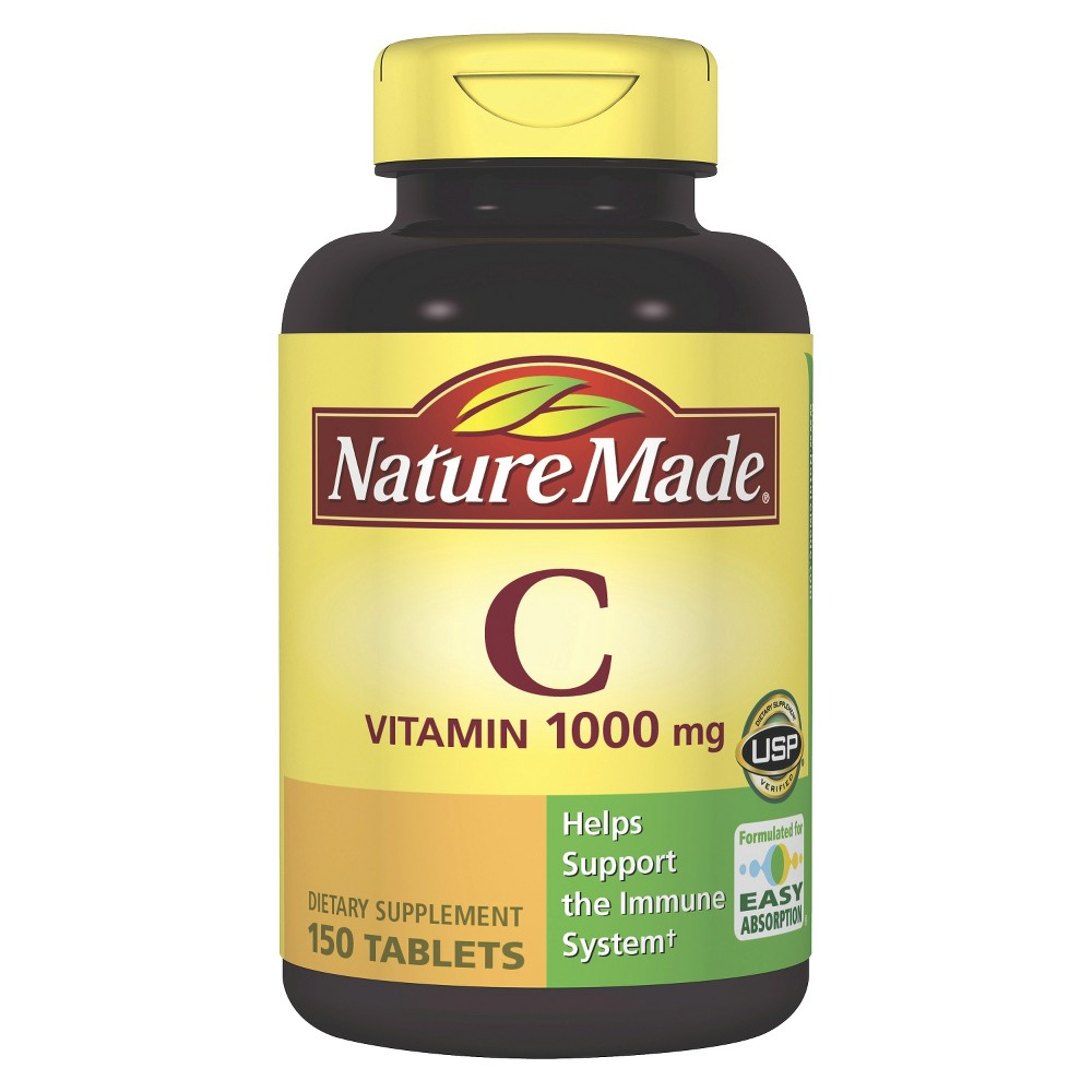 Nature Made Vitamin C Dietary Supplement Tablets - 150ct