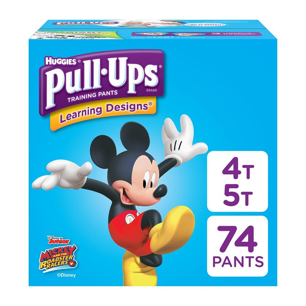 Huggies Pull-Ups Disposable Training Pants - 4T-5T (74ct)