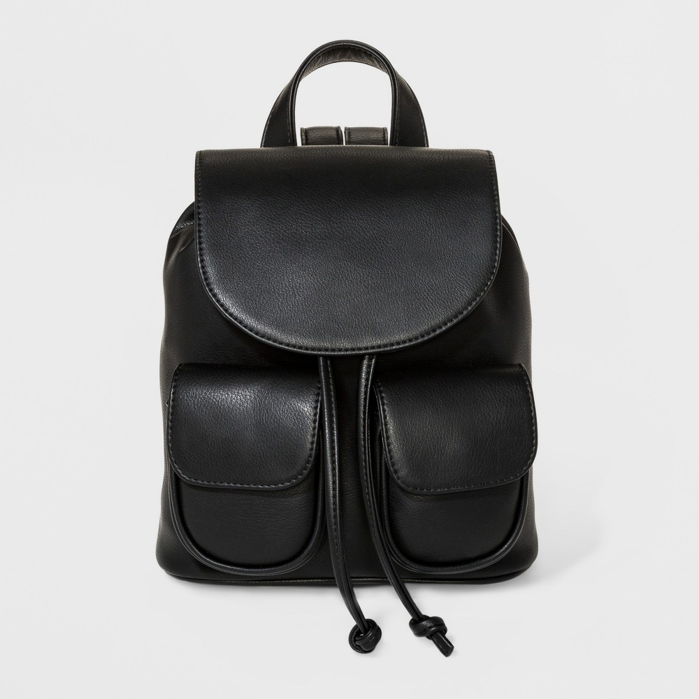 Mini Drawstring Backpack - Wild Fable Black